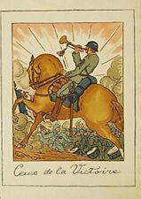 GUY ARNOUX - CEUX DE LA VICTOIRE - POCHOIR - PARIS 1918- INGRES PAPER.