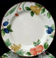 "Mikasa Country Classics Fruit Panorama 4 Dinner Plates 11"" More Pieces Available"