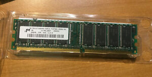 256MB PC2700 DDR-333MHz non-ECC Unbuff CL2.5 184-Pin DIMM From Apple G4 Tower