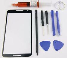 Motorola Google Nexus 6 Front Screen Glass Lens Replacement Kit Uv Glue tools