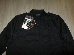 NWT 5.11 Tactical Series Navy Blue Work Shirt 2XL Patrol Duty Uniform B-Class