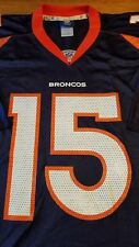 Reebok Tim Tebow Denver Broncos NFL Football Jersey Blue & Orange Adult 2XL