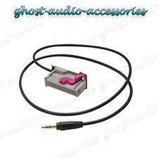 Audi A6 Navigation Plus Aux Auxiliary Input Adaptor Lead Cable Genuine Plug