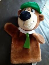 Vintage Retro Hanna Barbera Yogi Bear hand glove puppet 1993
