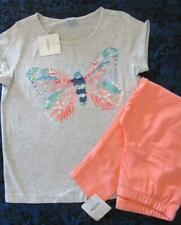 NWT 10 Gymboree Wildflower Weekend Butterfly Shirt Tea Collection Capri Leggings