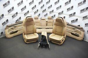 BMW F11 5er Touring Lederausstattung Ledersitze Komfortsitze Sitze Oyster