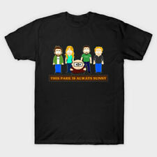 South Park x It's Always Sunny In Philadelphia Comedy Black T-Shirt Eric Cartman