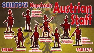 Chintoys 1/32 Napoleonic Austrian Staff - BAGGED, NO BOX # 006