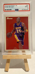 2009 Bowman '48 Kobe Bryant #36 PSA 9 Mint Lakers Black Mamba Pop 12 New Case