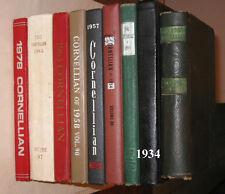 Cornell University Cornellian 1929 1944 1950 1960 1963 1978