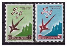 SAN MARINO 1958 -  ESPOSIZIONE UNIV. BRUXELLES SERIE  NUOVA  **