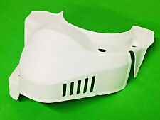 VESPA T5125 WHITE PLASTIC ENGINE COVER BY UTAH INTERNATIONAL ACCESSORIES