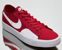 Nike SB Blazer Court Men's Red White Low Athletic Casual Skate Sneakers Shoes