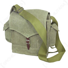 WW2 RUSSIAN BN-PM GAS MASK BAG - Repro Soviet Military Green Canvas Shoulder Bag