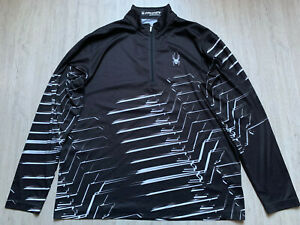 SPYDER Langlauf Funktion Ski Jacket Cross Country Second Layer Midlayer Shirt XL