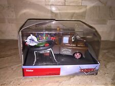 DISNEY CARS MATER WITH MINI RACETRACK STORE EXCLUSIVE DIECAST CAR