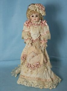 "18"" Jumeau Reproduction on LADY Composition Body"