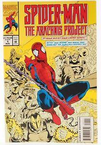 💎 1994 SPIDER-MAN THE ARACHNIS PROJECT #1 Marvel Comics VF+ 👀🎉💎