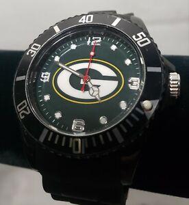 PACKERS | Men's Sparo - Rico Green Bay Packers Black Spirt Wristwatch