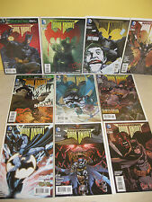 LEGENDS of the DARK KNIGHT #1-10 - Complete Run - LeMIRE Templesmith NILES Gage