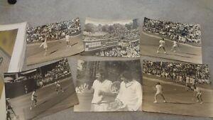 1971 PEPSI COLA TENNIS CHAMPIONSHIPS QUEENS CLUB LONDON LARGE PHOTOGRAPHS X 6