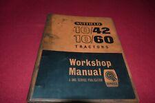Nuffield 10/42 10/60 Tractor Dealer's Shop Repair Manual MFPA