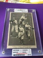 1911 Spalding Vintage T-206 ERA Slabbed/Graded NM 7 Zach Wheat HOF