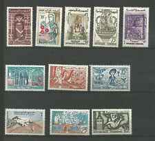 Tunisie 1959/61 11 timbres non oblitérés /TR2799