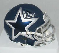AMARI COOPER SIGNED AUTOGRAPHED DALLAS COWBOYS AMP SPEED MINI HELMET JSA