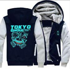 Tokyo Ghoul Luminous Hoodie Winter Fleece Hooded Coat Thick Warm Jacket Sweater