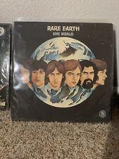 Rare Earth - One World - Original 1971 LP Record Album RS 520