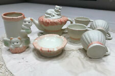 Lovely Ceramic Tea Or Coffee Set 7 Pieces New
