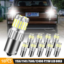 10X 1156 BA15S 3030+4014 Error Free LED Bulb Reverse Backup Turn Signal Light