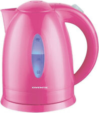 Electric Kettle 1.7L Pink Cordless Coffee Tea Hot Water Boiler With LED Light