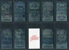 BASSETT 1986 - HOLOGREMS (Black, Red & Plain Back) - PICK YOUR TILT CARD STICKER