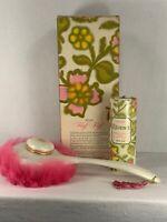 Vintage Avon Fluff Puff with 3.5 oz. Regence Beauty Dust