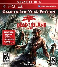 Dead Island GOTY - PS3 IMPORT neuf sous blister