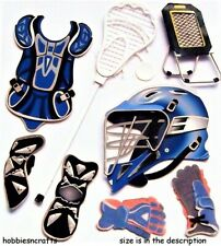 LACROSSE Jolee's Boutique 3-D Stickers - Gloves Helmet Boots Sport