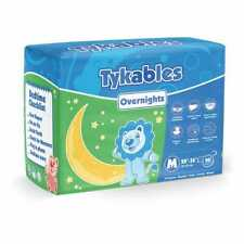 Tykables Overnights - Size 1 (Medium) - Pack of 10 - ABDL Adult Diaper