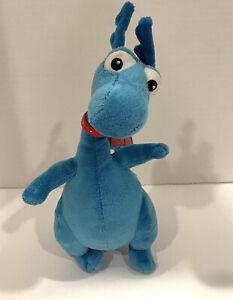 Stuffy Proud Dragon Plush Disney Doc McStuffins Blue Orange Spots Stuffed Small