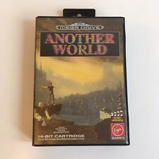 Another World Sega Mega Drive PAL Complete