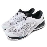 Asics Gel-Kayano 26 White Black Men Running Shoes Sneakers Trainers 1011A541-101
