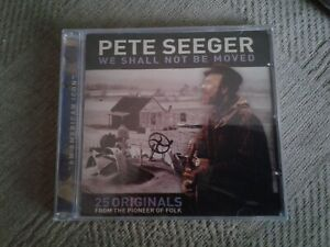 Pete Seeger - We Shall Not Be Moved CD new and sealed Freepost