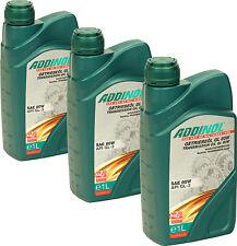 ADDINOL Getriebeöl GL80W 3 Liter (4,33€/L) 3x1L mineralisch 80W GL-3 Oldtimer