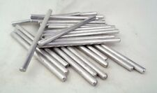 "1/4"" (6.35mm) x100mm Aluminium Rod for Handle Making Knife Scales Pins Bushcraft"