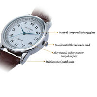 Backwards Watch:Reverse Time Movement,Unique Unusual Mens Watch
