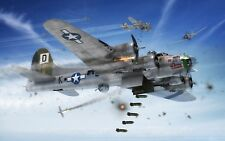 1:72 Scale Boeing B-17G Flying Fortress Model Aircraft Kit - Airfix #A08017