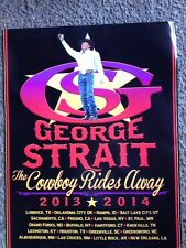 Must See! GEORGE STRAIT Cowboy Rides Away PHOTO VENUE Poster Very Striking