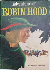 Adventures of Robin Hood Random House Book Jay Hyde Barnum 1953 Hc