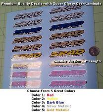 Suzuki SRAD RAM AIR Decals GSX R GSXR 1000 Metallics Super Glossy Laminate